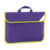 Quadra Enhanced-Viz Book Bag Purple