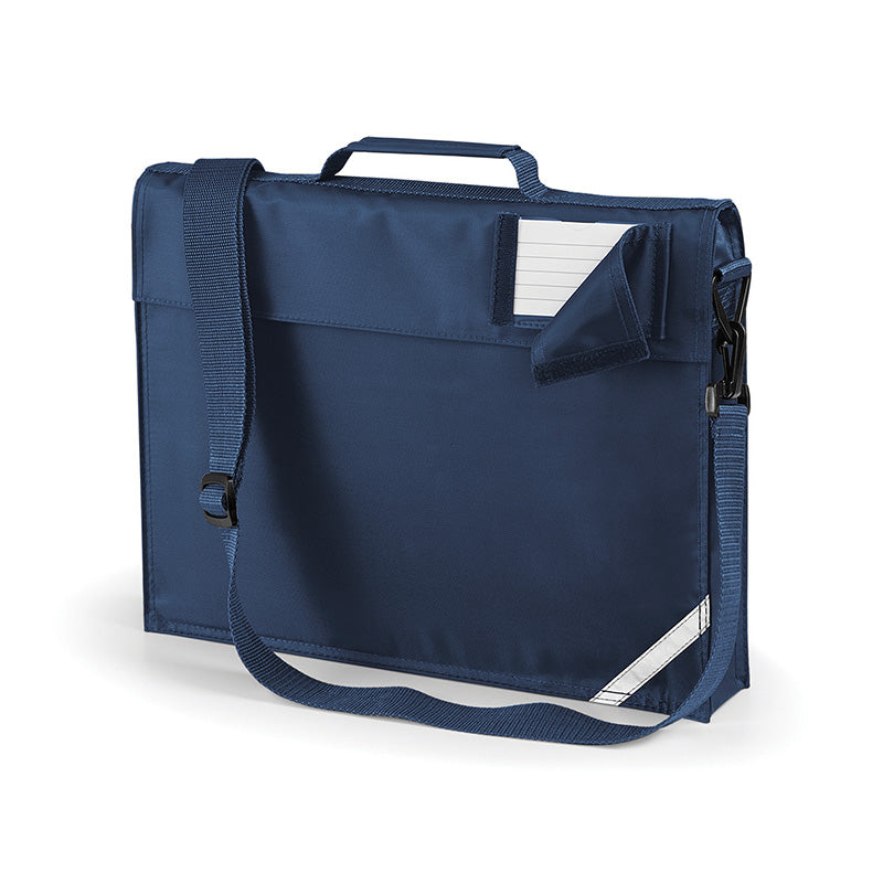 Quadra Junior Book Bag With Strap French Navy