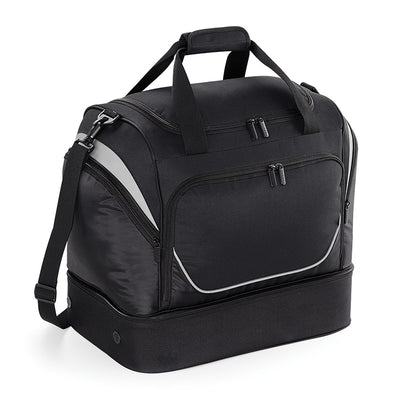 Quadra Pro Team Hardbase Holdall Black / Light Grey
