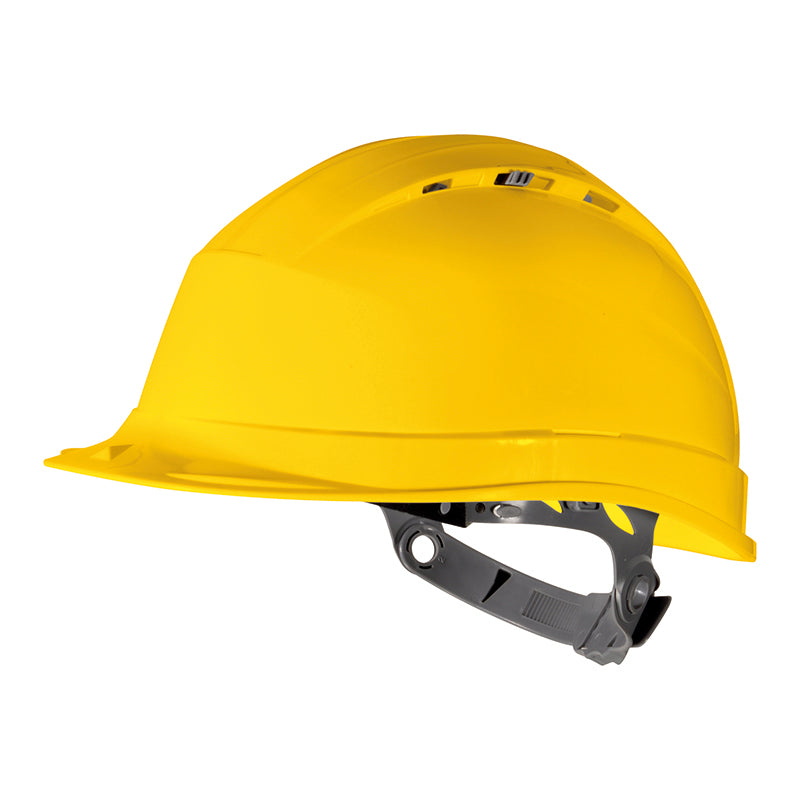 Delta Plus Quartz I Ventilated Safety Helmet Yellow