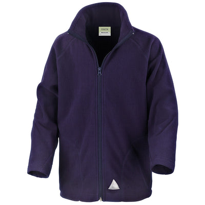 Result Core R114JY Children's Micron Fleece Jacket Navy