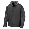 Result R118X Hooded Softshell Jacket Black