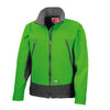 Result R120X Activity Softshell Jacket Vivid Green / Black