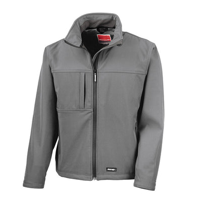 Result R121M Men's Classic Softshell Jacket Grey