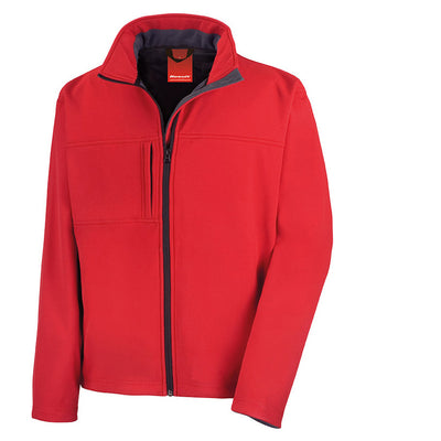 Result R121M Men's Classic Softshell Jacket Red