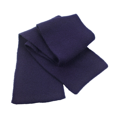 Result Winter Essentials R145X Classic Heavy Knit Scarf Navy