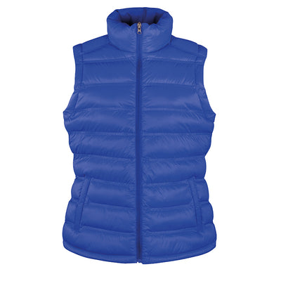 Result Urban R193F Ladies Ice Bird Padded Gilet Royal Blue