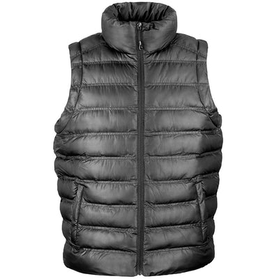 Result Urban R193M Mens Ice Bird Padded Gilet Black