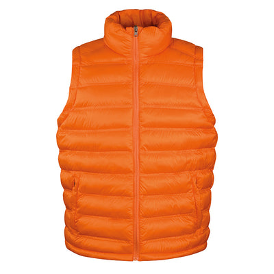 Result Urban R193M Mens Ice Bird Padded Gilet Orange