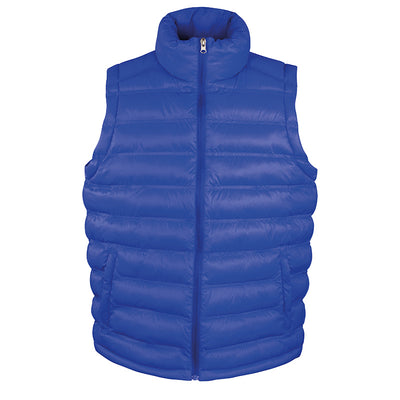 Result Urban R193M Mens Ice Bird Padded Gilet Royal Blue