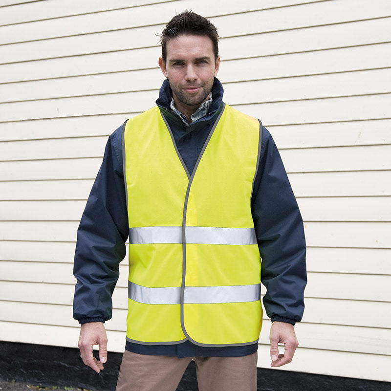 Result Safe-Guard Hi-Vis Motorist Safety Vest