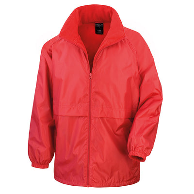Result Core R203X Microfleece Lined Jacket Red