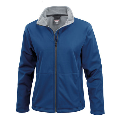 Result Core R209F Ladies Softshell Jacket Navy