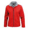 Result Core R209F Ladies Softshell Jacket Red