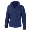 Result Core R220F Ladies Fashion Fit Outdoor Fleece Navy