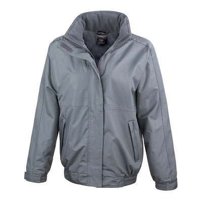 Result Core R221F Ladies Channel Jacket Grey