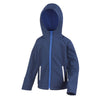 Result Core R224JY Junior TX Performance Hood Softshell Navy / Royal