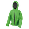 Result Core R224JY Junior TX Performance Hood Softshell Vivid Green / Black