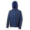 Result Core R230M Mens TX Performance Hooded Softshell Jacket Navy / Royal
