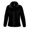 Result Core R231F Ladies Printable Softshell Jacket Black / Black
