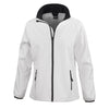 Result Core R231F Ladies Printable Softshell Jacket White / Black