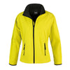 Result Core R231F Ladies Printable Softshell Jacket Yellow / Black