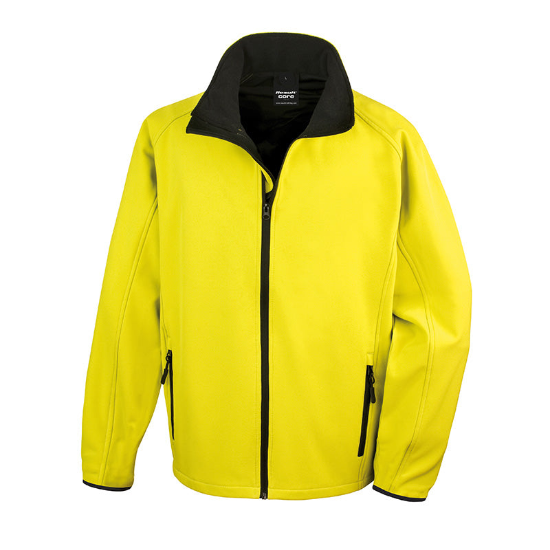 image regarding Printable Jacket named Outcome Main R231M Mens Printable Softs Jacket