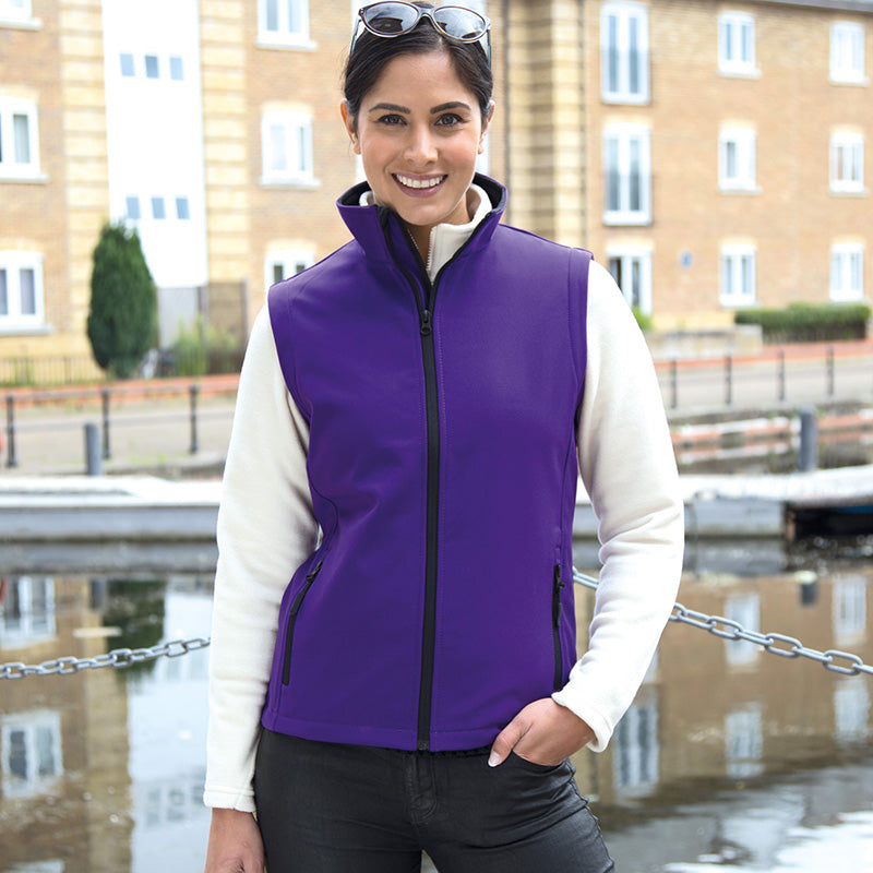 Result Core R232F Ladies Printable Softshell Bodywarmer