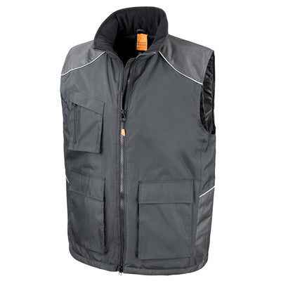 Result Work-Guard Vostex Bodywarmer Black
