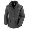 Result Work-Guard Ladies' Platinum Managers Jacket Black