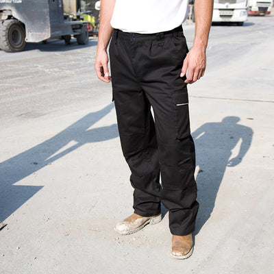 Result Work-Guard Action Trousers Black