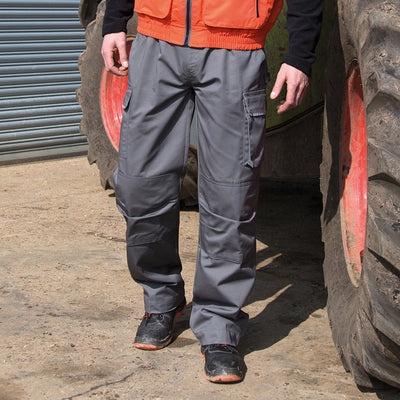 Result Work-Guard Action Trousers Grey