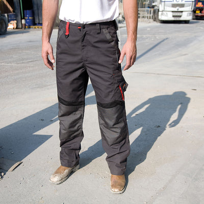 Result Work-Guard Technical Trouser Grey / Black