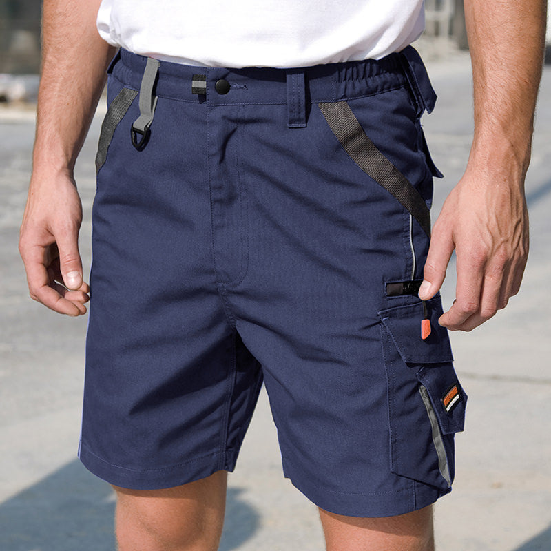 Result Work-Guard Technical Shorts Navy / Black / S