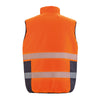 Result Safe-Guard Reversible Soft Padded Safety Gilet