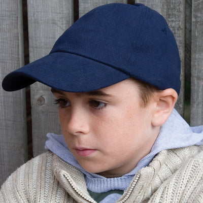 Result Headwear RC24J Children's Low Profile Heavy Brushed Cotton Cap