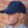 Result Headwear RC25 Pro-Style Brushed Cotton Cap