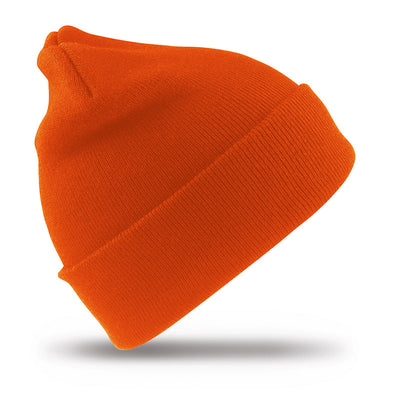 Result Winter Essentials RC33 Woolly Ski Hat Hi-Vis Orange
