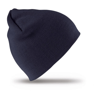Result Winter Essentials RC44 Pull On Soft Feel Acrylic Hat Navy