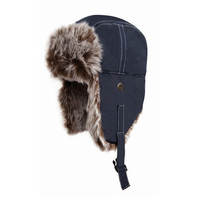Result Winter Essentials RC56 Classic Sherpa Hat Midnight Blue