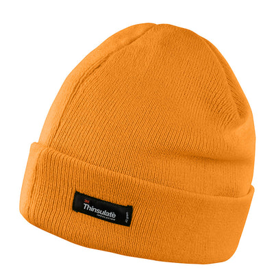 Result Winter Essentials RC133X Lightweight Thinsulate Hat Hi-Vis Orange