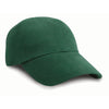 Result Headwear RC24 Low Profile Brushed Cotton Cap Forest Green