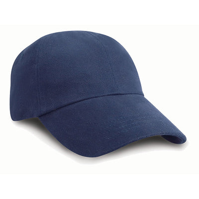 Result Headwear RC24J Children's Low Profile Heavy Brushed Cotton Cap Navy