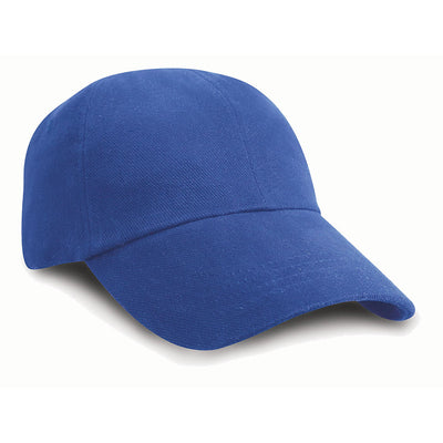 Result Headwear RC24J Children's Low Profile Heavy Brushed Cotton Cap Royal Blue