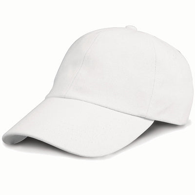 Result Headwear RC24J Children's Low Profile Heavy Brushed Cotton Cap White