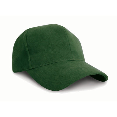 Result Headwear RC25 Pro-Style Brushed Cotton Cap Forest Green