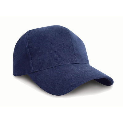 Result Headwear RC25 Pro-Style Brushed Cotton Cap Navy