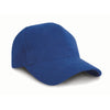 Result Headwear RC25 Pro-Style Brushed Cotton Cap Royal Blue