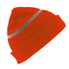 Result Winter Essentials RC33J Children's Woolly Ski Hat Hi-Vis Orange
