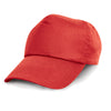 Result Headwear RC05 Cotton Cap Red
